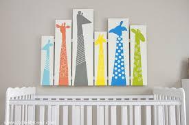 diy giraffe nursery wood wart via makeit loveit