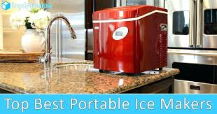 countertop clear ice maker top 5 best portable reviews newair 40 pound