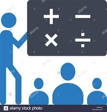 Symbol For Teacher Classroom Icon Vector Teacher And Learner Classroom Presentation
