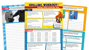 Included in your teacher account is access to 220 free phonics worksheets to use as a whole class. Year 3 And 4 Word Endings That Sound Like Shun Worksheets Ks2 Spelling Workout Plazoom