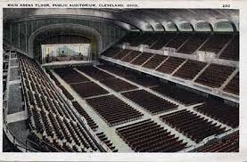 Public Auditorium Public Hall The Cleveland Group Plan Of 1903