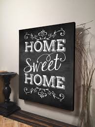 Small Picture Home Sweet Home Sign Inspirational Quote Family Quote Signs Wall