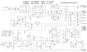 pc switching power supply schematic using tl lm ic ka smps schematic using ic2003