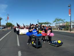 Tolleson Light Parade 2016 Community Outreach First Robotics Competition Team 2662