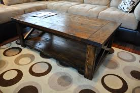 Diy rustic coffee table Diy Projects Ana White Ana White Farmhouse Style Rustic Coffee Table Diy Projects