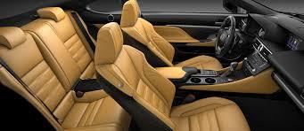 lexus rc interior. exterior molten pearl interior playa silver performance trim lexus rc