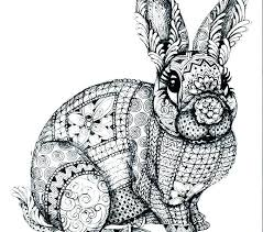 Hard Animal Coloring Pages 6 45827