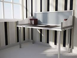 contoured wings and terrace panel desk dividers create stylish privacy for your home office space