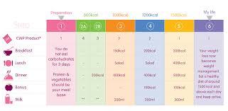 Programme 6 Steps Cambridge Weightplan Cyprus