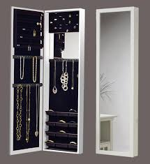 wonderful over the door mirrored jewelry armoire brilliant idea of mirror charming hook shoe rack towel