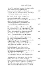 venus and adonis william shakespeare  31