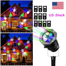 Christmas Projector Lights Ebay Details About Christmas Projector Light Moving Snowflake Led Laser Landscape Xmas Outdoor Us