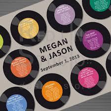 Wedding Seating Chart Printable Music Theme 2449530