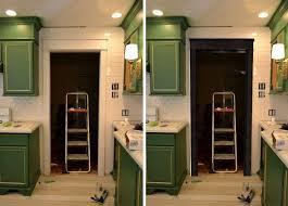 white or black door trim