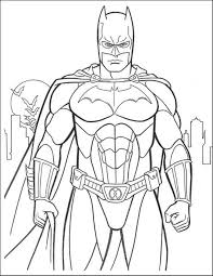 Small Picture Free Coloring Page Batman