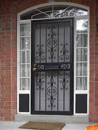 Door: Andersen Storm Door Parts   Lowes Security Doors   Wrought ...