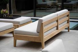 The elegant Banyan armless sofa | Elegant, Woodworking and Woods