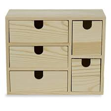 wood office cabinet. Small Multi Purpose Desktop Organizer Caddy With 5 Drawers Storage Cabinet  Sewing Box And DIY Craft Wood Office Cabinet O
