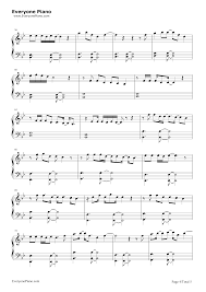 say you won t let go sheet music say you wont let go james arthur stave preview 4 free piano sheet