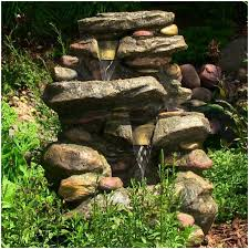 Small Picture Backyards Bright Water Fountain Stone Falls With Led Light 112