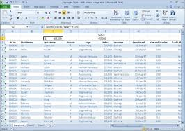 An Overview Of Excel 2010s Database Functions Dummies