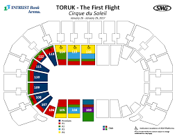 Intrust Bank Arena Seating Chart For Wwe Intrust Bank Arena Seating Chart Cirque Du Soleil Best