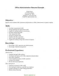 Valuable Office Administrator Cv Administration Resume Sample Jk