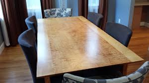 cherry dining room set custom photo custom table lionheart with metal foot custom dining table shown in ma