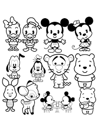 Small Picture Disney Coloring Pages Cute Coloring Pages