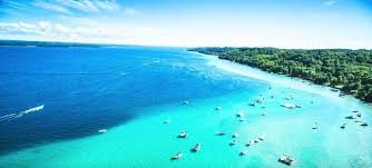 Sky Lakes My Chart Michigans Torch Lake Looks Exactly Like The Caribbean Sea