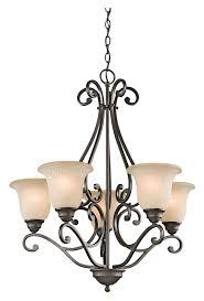 kichler 43224oz camerena 5 lamp olde bronze medium 27 inch diameter chandelier light kic 43224oz
