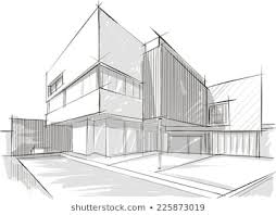 Image Building Shutterstock Architecture Sketch Images Stock Photos Vectors