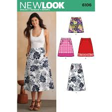 Simplicity Skirt Patterns Mesmerizing New Look Pattern 48 Misses' Skirts