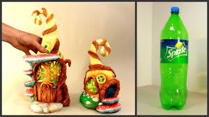 Diy Two Fairy House Lamps Using A Plastic Bottle