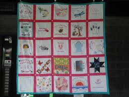 Memorial Quilt Joins Lives & Tells Stories of Loss and Survival ... & The 2011 Promise Walk Quilt traveled to and was displayed at numerous walks. Adamdwight.com