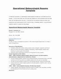 Usa Jobs Resume Builder Fresh Federal Resume Format Inspirational