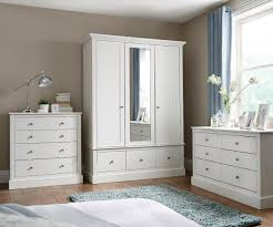 assembled bedroom furniture. white painted bedroom furniture consort dover assembled