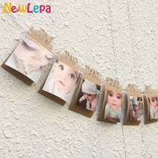product description diy monthly paper 1st one year photo birthday banner string