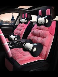 pink leather seat covers for suv toilet