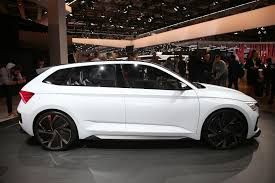 skoda vision rs ing to a showroom near you in spring 2019