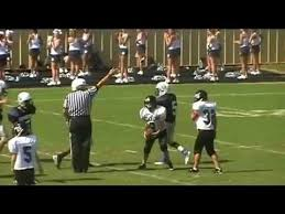 carolina springs middle school carolina springs 7 vs gilbert 0 youtube