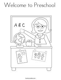 Bluebonkers home › kids activities › kids coloring pages. Welcome To Preschool Coloring Page Welcome To Preschool Kindergarten Coloring Pages Welcome To Kindergarten