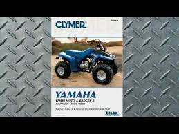 clymer manuals yamaha yfm80 moto 4, badger and raptor 1985 2008 atv 1975 Rd 350 Wiring Diagram clymer manuals yamaha yfm80 moto 4, badger and raptor 1985 2008 atv manual youtube