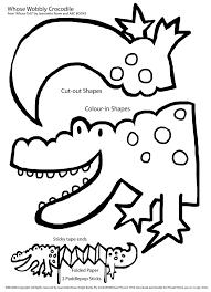 Small Picture Fantoche de Crocodilo em forma de acordeon Alligators Puppet