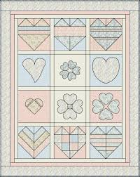 Free Block of the Month Quilt Pattern: Shabby Love – BOMquilts.com & Free Block of the Month Quilt Pattern: Shabby Love Adamdwight.com