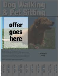 dog walking flyers essential elements you ll need pet dog walking flyers