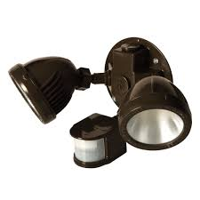 Security Light Kit Hubbell 5882 7 Weatherproof Led Flood Light Kit With Motion