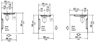 california ada bathroom requirements. Figure 28. Clear Floor Space At Water Closets California Ada Bathroom Requirements G