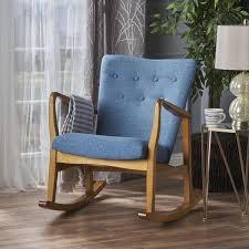 blue rocking chair. Blue Rocking Chair
