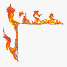frame flame fire effects hd png